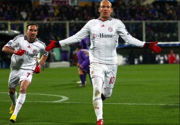Fiorentina 3-2 Bayern Munich: Robben Strike Rescues Bayern