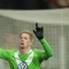 Wolfsburgs De Bruyne jubelt nach seinem Treffer