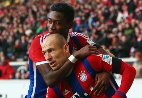 Bayern, la vidéo du boulet de canon de Robben face à Stuttgart