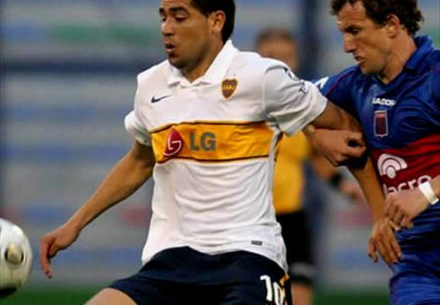 West Ham United face being muscled out of race for Juan Roman Riquelme