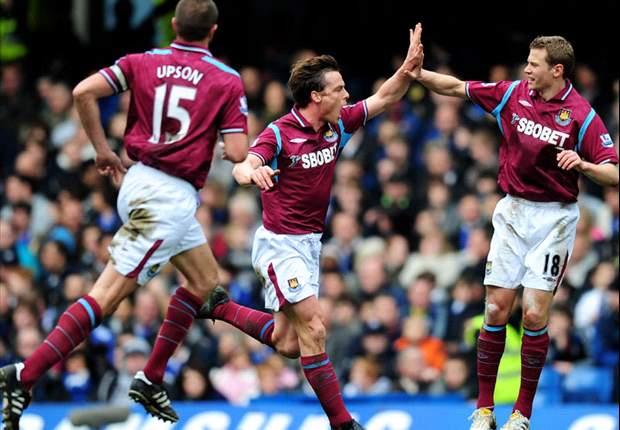 Aston Villa boss Martin O'Neill looking to bid £10m for West Ham United star Scott Parker - report