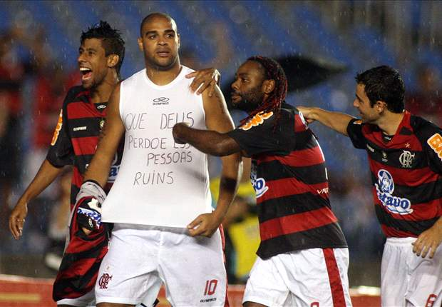 South American Dispatch: Adriano Denies Drink And Drug Addiction