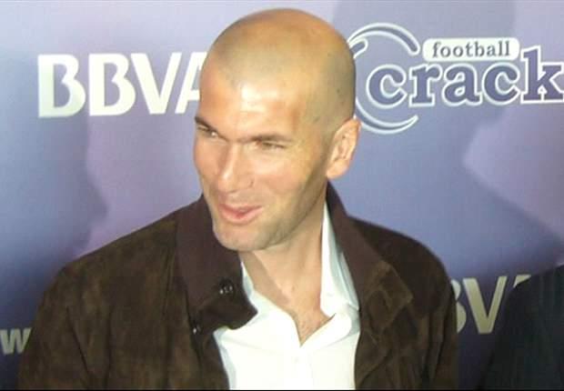 Zidane watches Montpellier's Belhanda against Evian