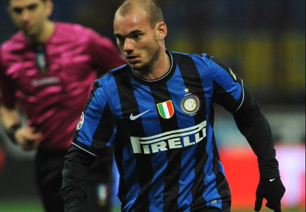 Inter Star Wesley Sneijder: We Fully Deserved To Beat Chelsea