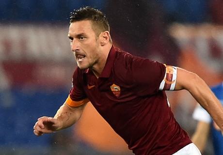 Roma, Totti croit encore au titre