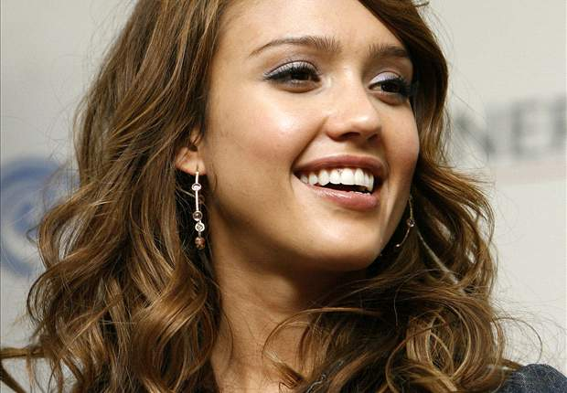 World Cup 2010: Hollywood Actress Jessica Alba Visits Soccer City In South Africa