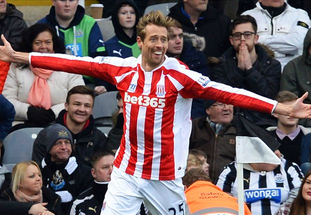 Newcastle United 1-1 Stoke City: Crouch snatches point at the death