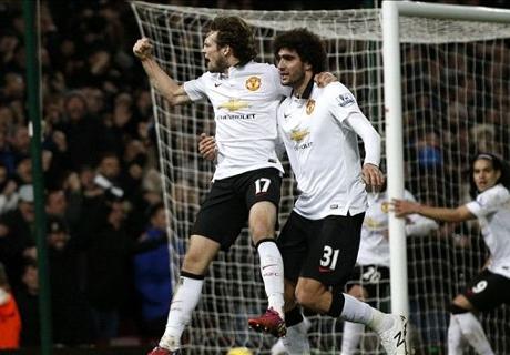 El United lo empató sobre la hora