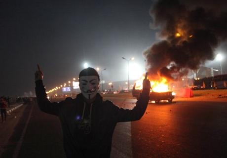 Twenty-two dead in Egypt fan/police clash
