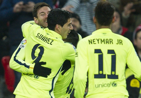 Athletic 2-5 Barca: Late flurry of goals