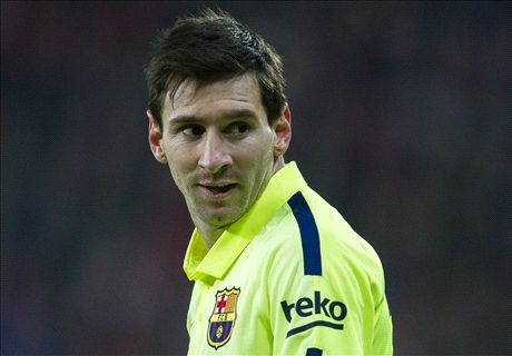 Messi returns to Barca after Argentina row