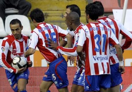 Sporting 2-0 Eibar: Calificaciones