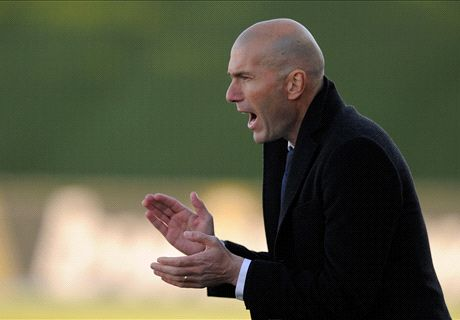I'd say yes to Madrid job - Zidane