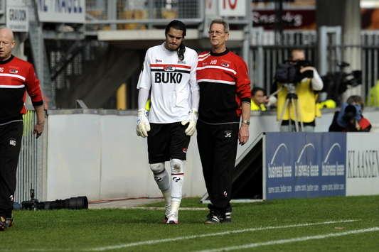 Sergio Romero injured, AZ (PROSHOTS)