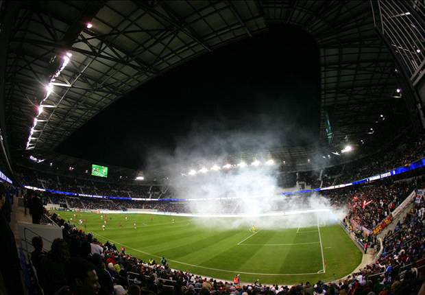 "Red Bull Arena experienced only ""minor"" hurricane damage"