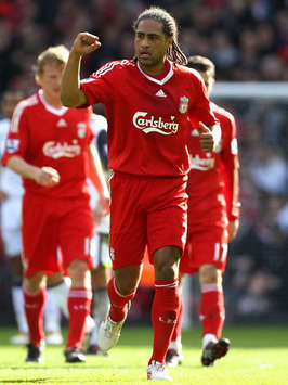 EPL: Glen Johnson of Liverpool(Grtty Images)