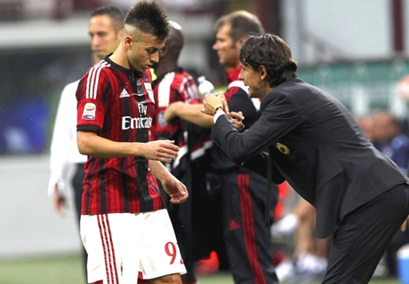 El Shaarawy: Inzaghi just needs time