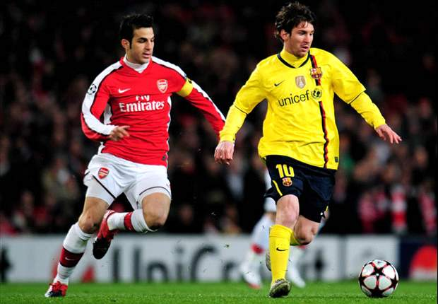 Lionel Messi: Cesc Fabregas leaving Arsenal for Barcelona would be 'special'