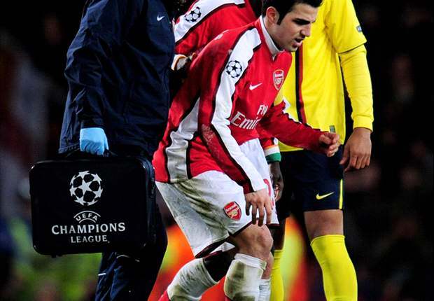 Arsene Wenger Defends Arsenal's Involvement In Cesc Fabregas' Season-Ending Injury