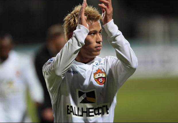 Liverpool target Keisuke Honda pleased with reports linking him with Juventus move
