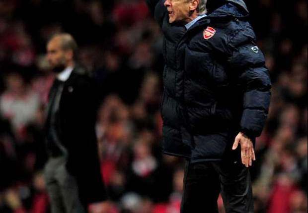 Wenger verrast door vertrek Guardiola
