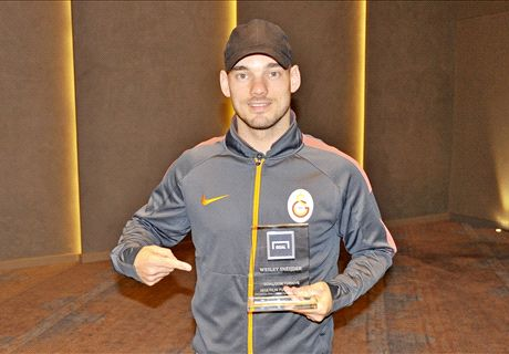 Sneijder thanks Goal readers for award