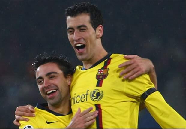 Manchester City Ponder €41m Bid For Barcelona's Sergio Busquets - Report