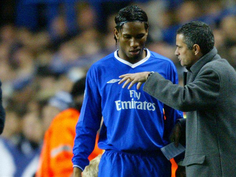 Drogba voted Mourinho's greatest ever striker ahead of Ronaldo