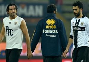Sempre meno speranze per i giocatori del Parma