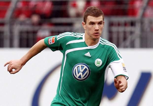 Juventus Step Up Chase For Wolfsburg Striker Edin Dzeko - Report