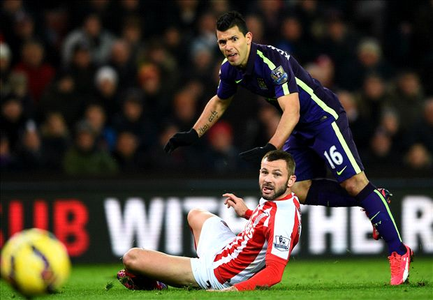 Stoke City 1-4 Manchester City: Aguero shines to get Pellegrini's men back on track