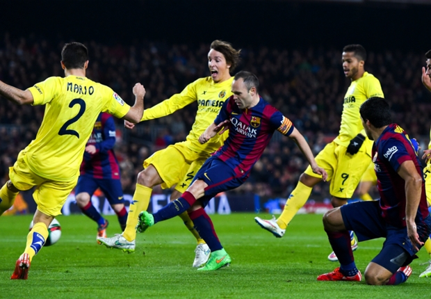 Barcelone 3-1 Villareal : le Barça prend une option