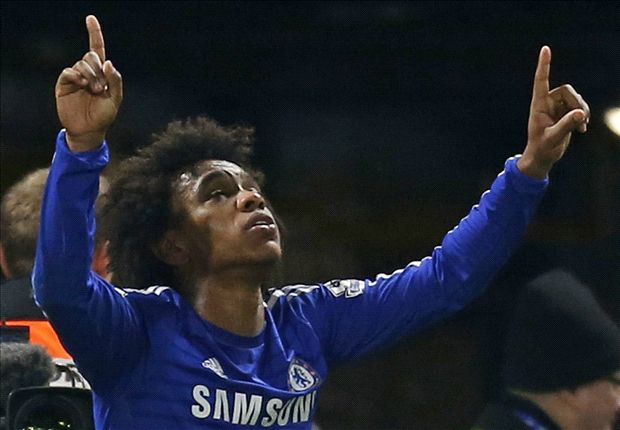 Chelsea 1-0 Everton: Willian scores crucial late winner