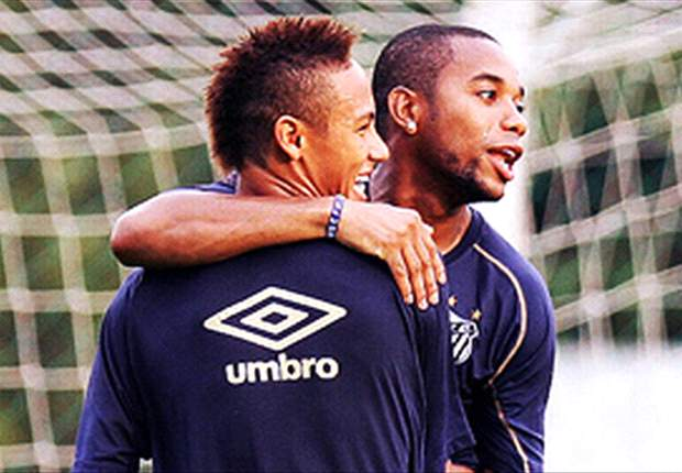Neymar: I want Robinho to join Santos
