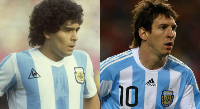 Maradona-Messi mix