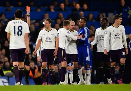 Chelsea en Everton krijgen geldboete