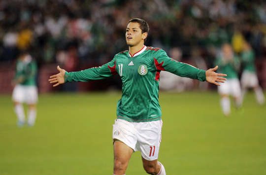 Javier Hernandez, Mexico (Getty Images)