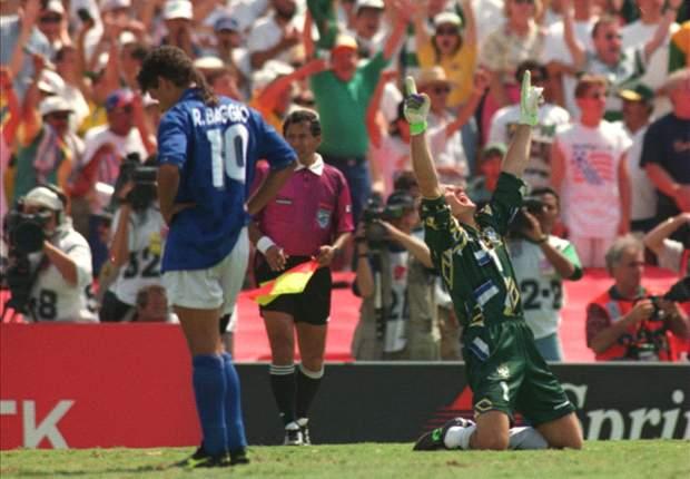 WM-Geschichte 1994: Baggios tragischer Fehlschuss beschert Selecao vierten Titel