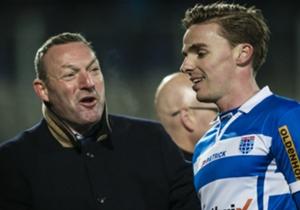 Ron Jans in betere tijden bij PEC Zwolle