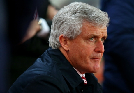 Hughes delighted with Stoke display