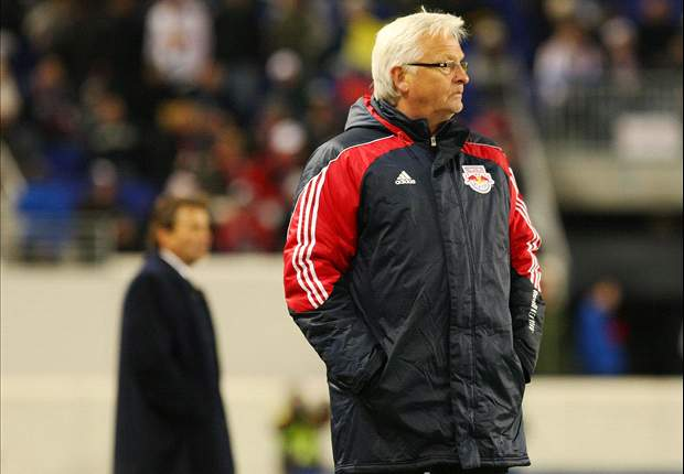 Sven Goran Eriksson Wishes New York Red Bulls Coach Hans Backe Good Luck