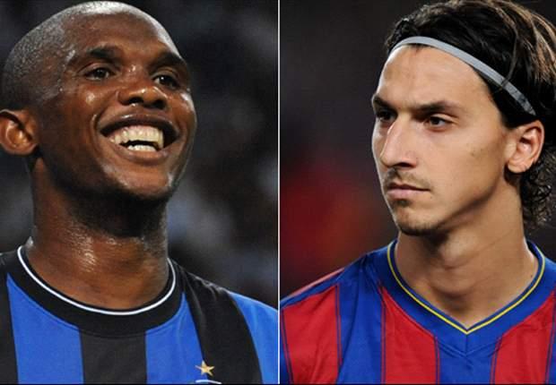 Champions League Debate: Zlatan Ibrahimovic & Samuel Eto'o Go Head To Head