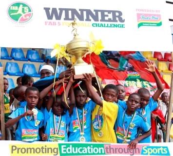 Opebi Pry Sch win FAB-5 Football Challenge
