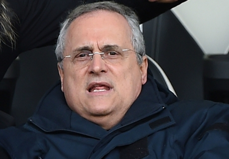 'Lazio chief Lotito is like Mussolini'