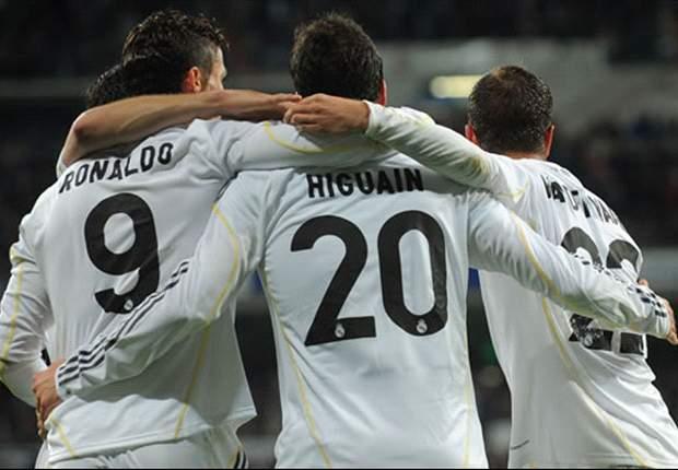 RAPOR PEMAIN: Real Madrid 2-0 Valencia