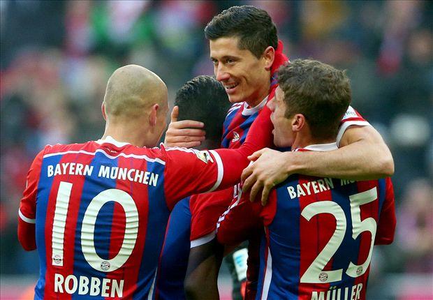 الدوري الألماني | البايرن يحقق أرقاماً قياسيةً بالجملة في مباراة هامبورج -