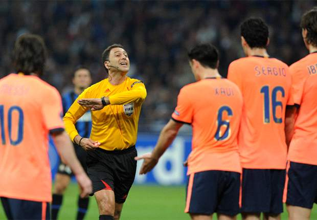 CL Comment: The Referee's Big Decisions In Inter-Barcelona Revisited