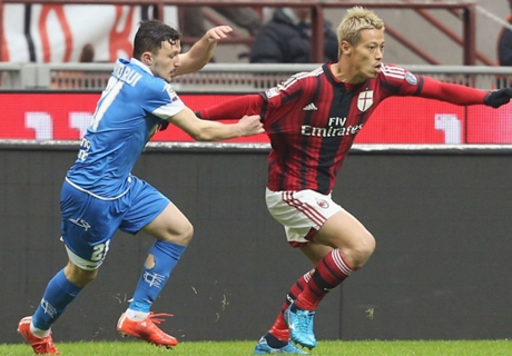 Milan 1-1 Empoli: Shared spoils