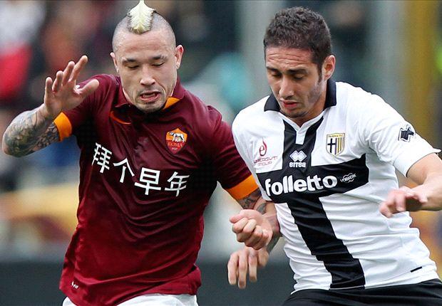 Roma 0-0 Parma: Giallorossi booed off in bore draw