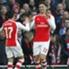 Olivier Giroud (r.) und Alexis Sanchez durften sich freuen